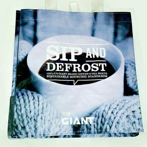 Gifts! Tote Bag for Winter Hot Cup of Coffee Bag